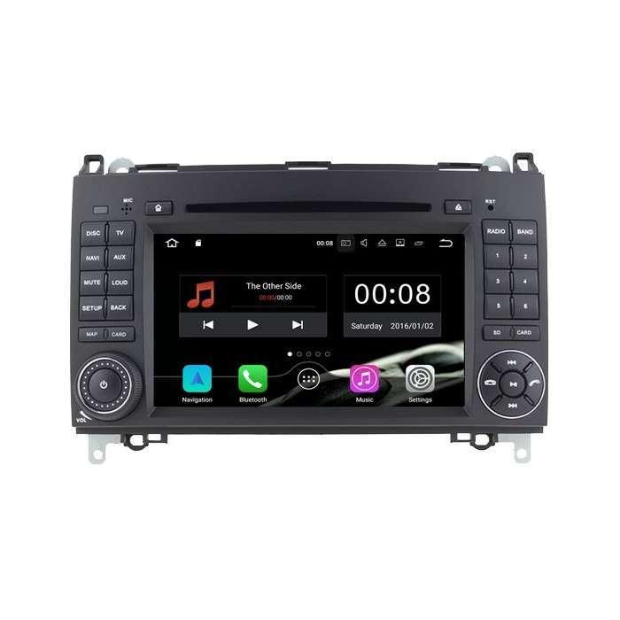 """Radio DVD Navegador GPS Android para Mercedes Clase A / B / Vito / Viano (7"""")"""