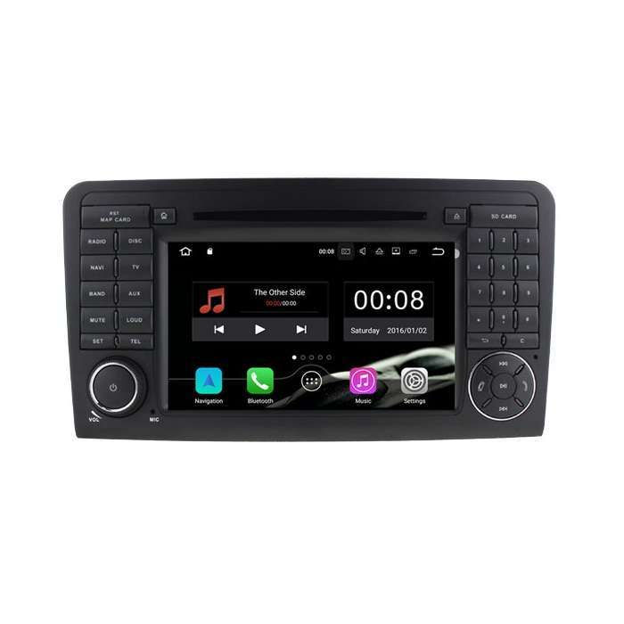 "Radio DVD Navegador GPS Android para Mercedes ML / GL (7"")"