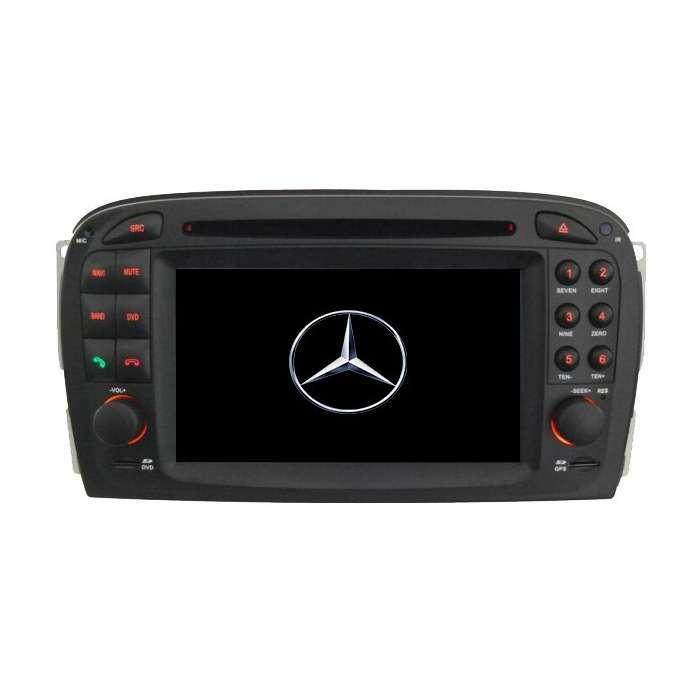 """Radio DVD Navegador GPS Android para Mercedes SL (7"""")"""