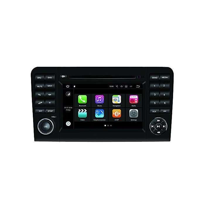 """Radio DVD Navegador Modelo S200 Android para Mercedes Clase ML / GL (7"""")"""