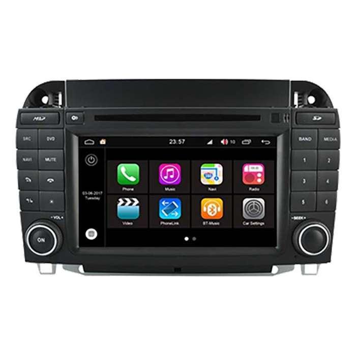"""Radio DVD Navegador Modelo S200 Android para Mercedes Clase S (7"""")"""