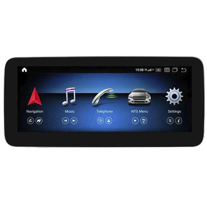 """Radio Navegador GPS Android para Mercedes Clase A / B / CLA / GLA (12,3"""")"""
