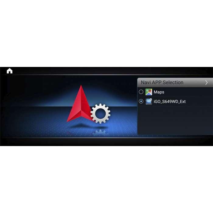 "Radio Navegador GPS Android para Mercedes Clase C (12,3"")"