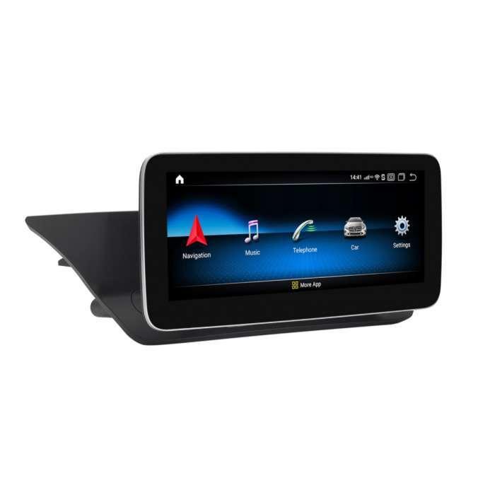 """Radio Navegador GPS Android para Mercedes Clase E (12,3"""")"""