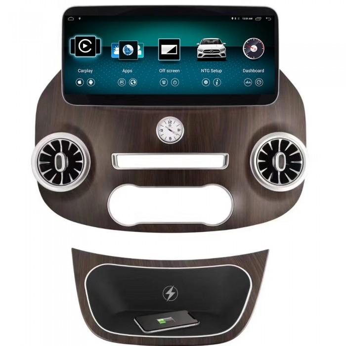 "Radio Navegador GPS Android para Mercedes Vito (12,3"")"