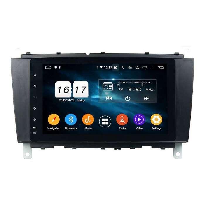 """Radio Navegador GPS Android para Mercedes Benz Clase C (9"""")"""