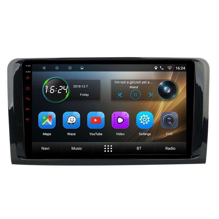 "Radio Navegador GPS Android para Mercedes Benz ML / GL (9"")"