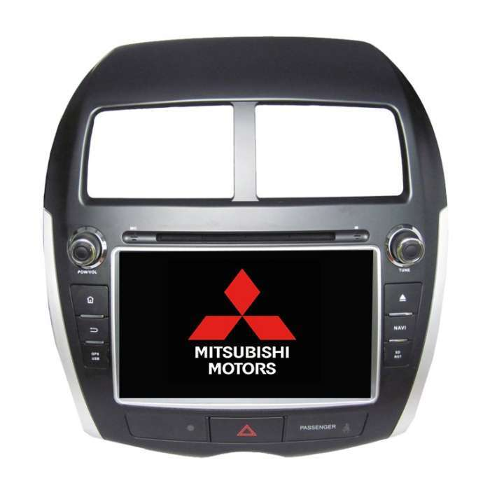 """Radio DVD Navegador GPS Android para Mitsubishi ASX / Aircross (8"""")"""