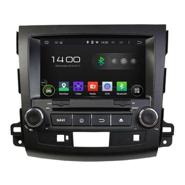 "Radio DVD Navegador GPS Android para Mitsubishi Outlander / Citroen C Crosser (7"")"