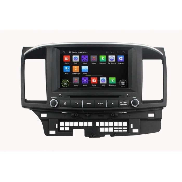 """Radio DVD Navegador GPS Android para Mitsubishi Lancer (8"""")"""