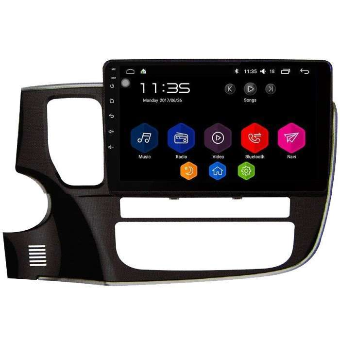 """Radio Navegador GPS Android para Mitsubishi Outlander (10,1"""")"""
