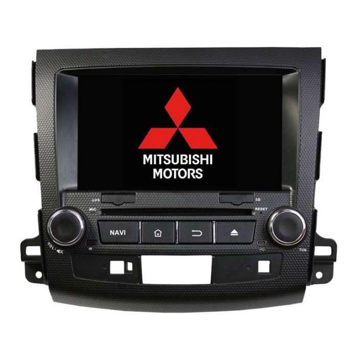 "Radio DVD Navegador GPS Android para Mitsubishi Outlander / Citroen C Crosser (8"")"