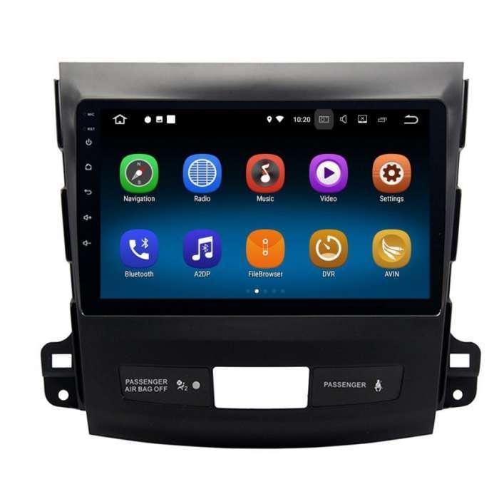"""Radio Navegador GPS Android para Mitsubishi Outlander (9"""")"""