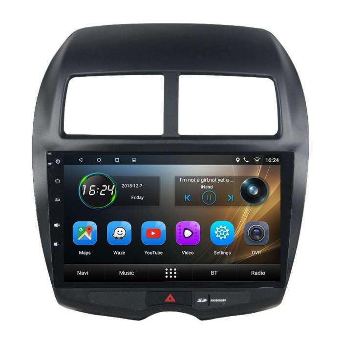 """Radio Navegador GPS Android para Mitsubishi ASX (10,2"""")"""