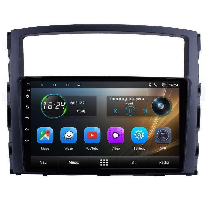 "Radio Navegador GPS Android para Mitsubishi Montero / Pajero (9"")"