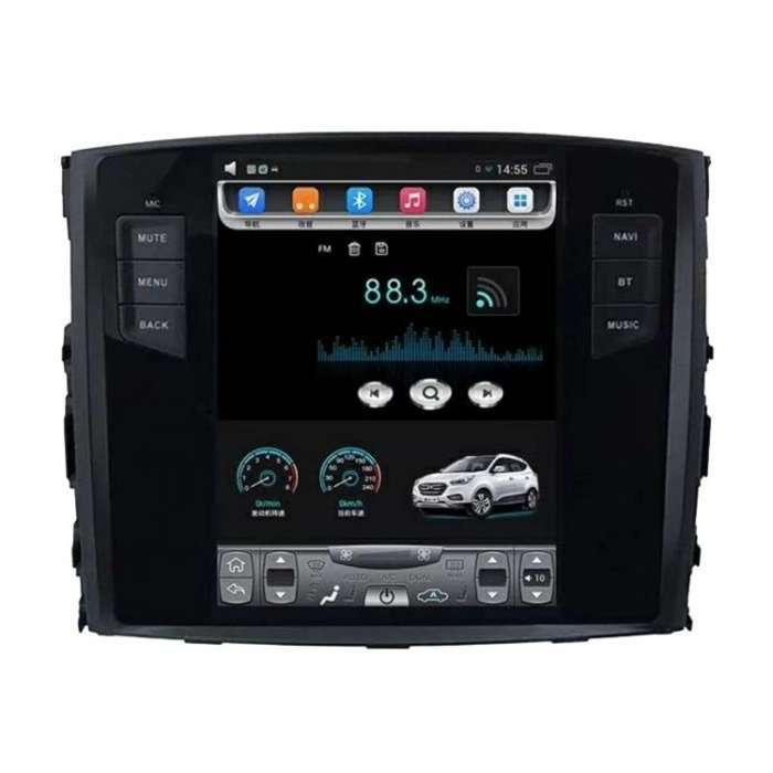 "Radio Navegador Android Tipo Tesla para Mitsubishi Montero / Pajero (10,4"")"