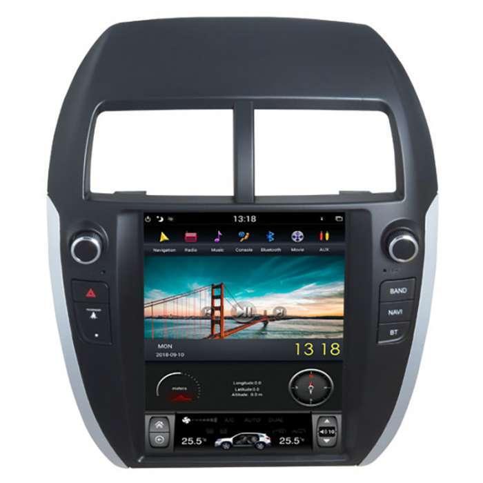 "Radio Navegador Android Tipo Tesla para Mitsubishi ASX / Citroen C- Crosser (10,4"")"