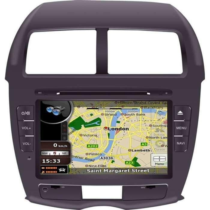 "Radio DVD Navegador GPS Android para Mitsubishi ASX / Citroen C4 (8"")"