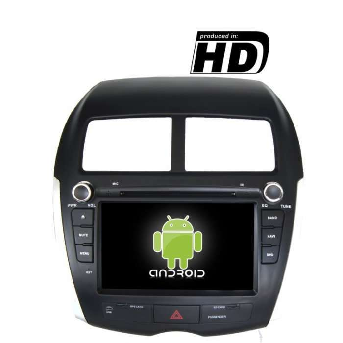 "Radio DVD Navegador GPS Android para Mitsubishi ASX / Citroen C4 Aircross (8"")"