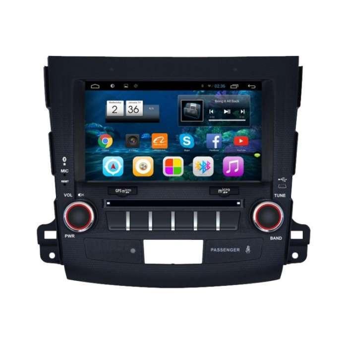 """Radio Navegador GPS Android para Mitsubishi Outlander / Citroen C Crosser (8"""")"""