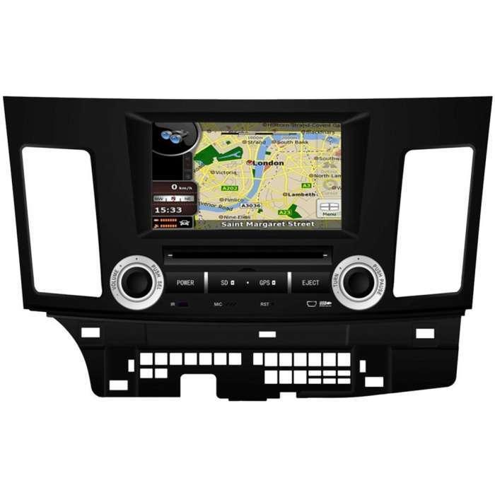 "Radio Navegador GPS Android para Mitsubishi Lancer (8"")"