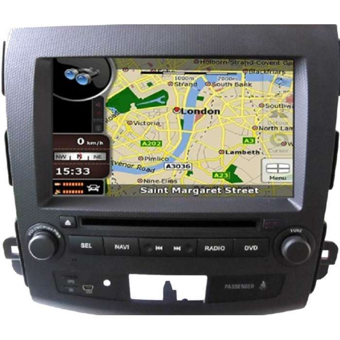 "Radio DVD Navegador GPS Android para Mitsubishi Outlander (8"")"