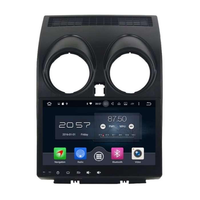 """Radio Navegador GPS Android para Nissan Qashqai (9,2"""")"""
