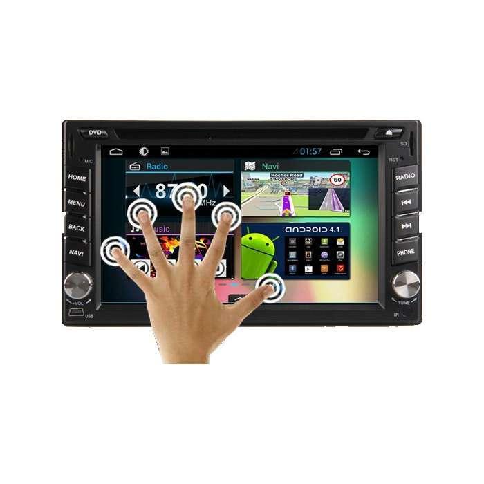 "Radio DVD Navegador GPS Android para Nissan (6,2"")"