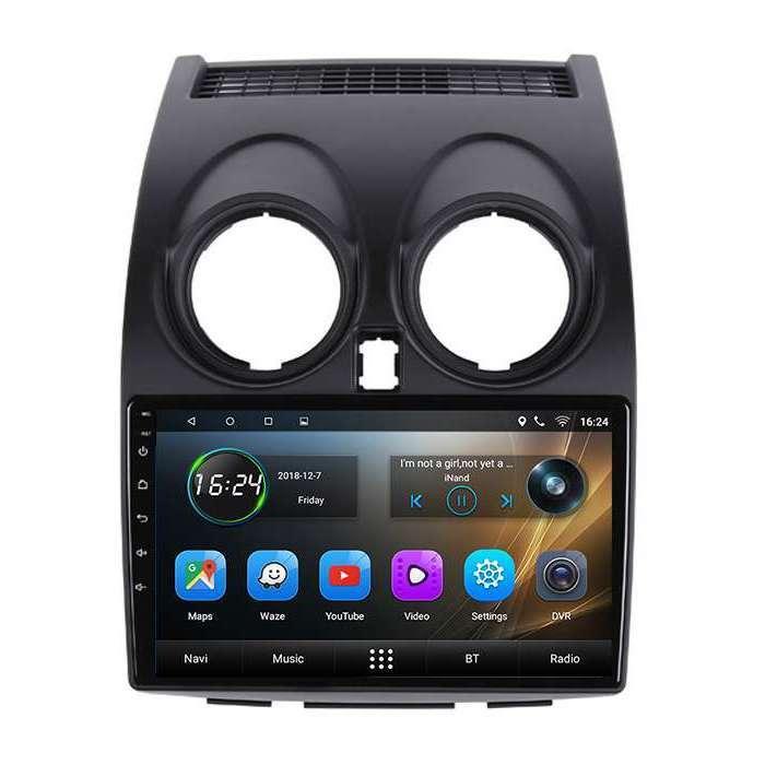 """Radio Navegador GPS Android para Nissan Qashqai (9"""")"""