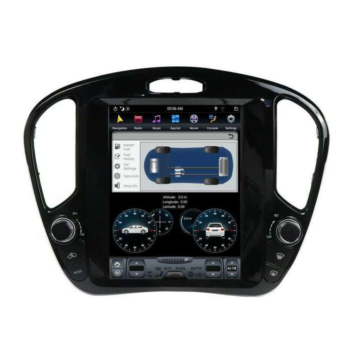 "Radio Navegador Android Tipo Tesla para Nissan Juke (10,4"")"