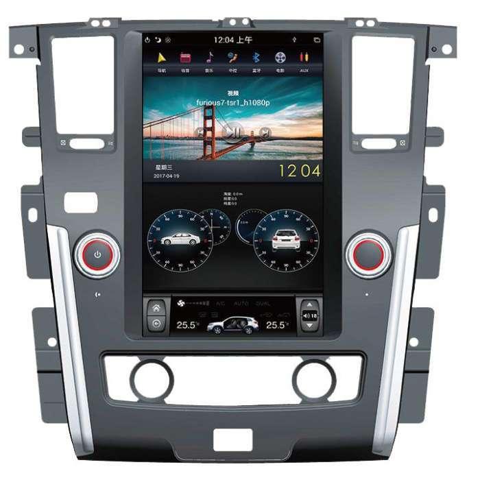 "Radio Navegador Android Tipo Tesla para Nissan Patrol (13,6"")"