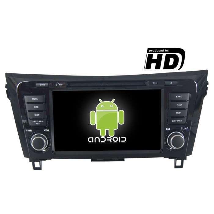 "Radio DVD Navegador GPS Android para Nissan Qashqai / Xtrail (8"")"
