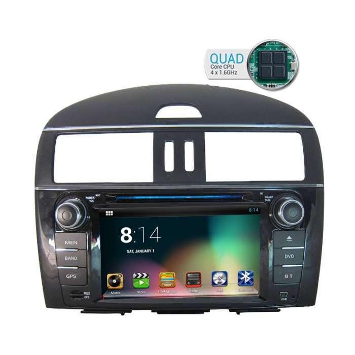 "Radio DVD Navegador GPS Android para Nissan Xtrail / Tiida (7"")"