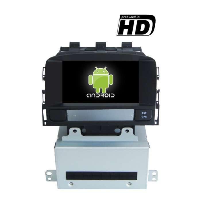 "Radio DVD Navegador Octa Core 4G LTE Android para Opel Astra J (7"")"