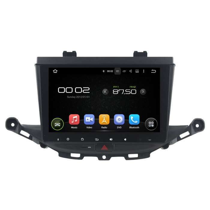 "Radio Navegador GPS Android para Opel Astra K (9"")"