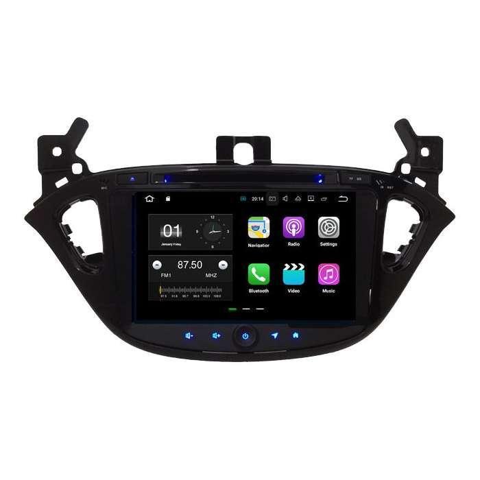 """Radio DVD Navegador GPS Android para Opel Corsa (8"""")"""