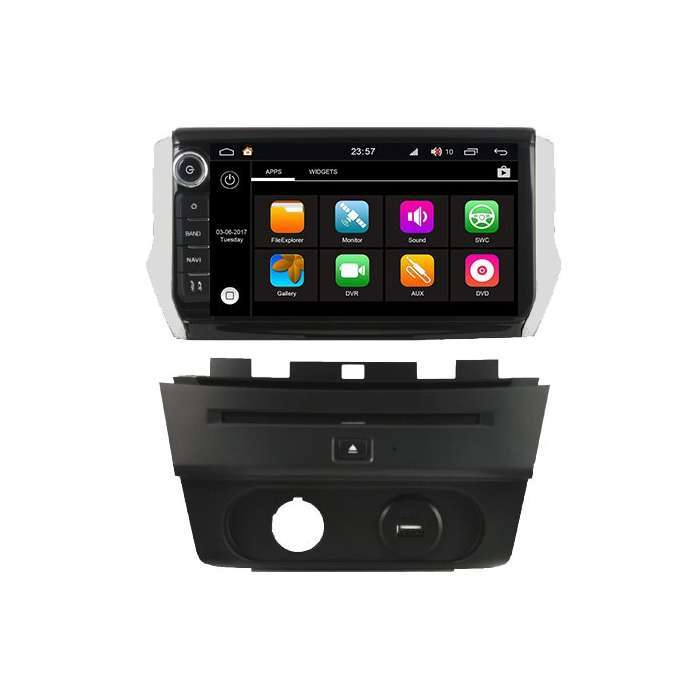 "Radio DVD Navegador Modelo S200 Android para Peugeot 208 / 2008 (8"")"