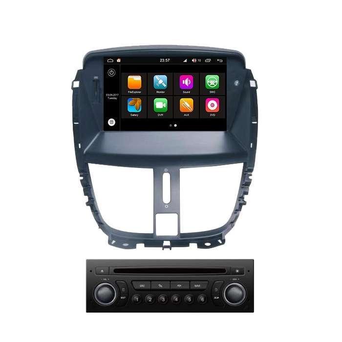 "Radio DVD Navegador Modelo S200 Android para Peugeot 207 (7"")"