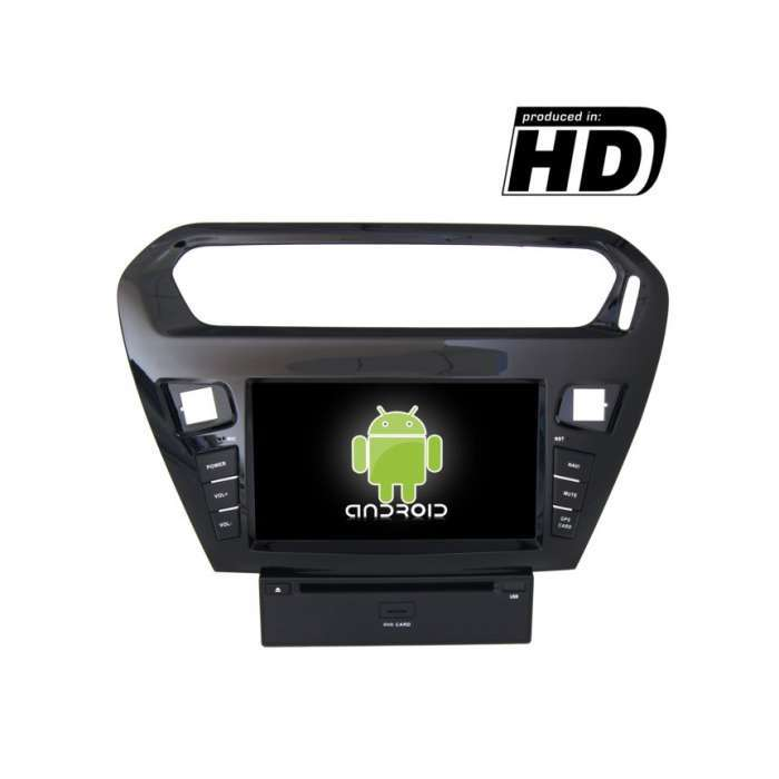 "Radio DVD Navegador GPS 4G LTE Android para Peugeot 301 (7"")"