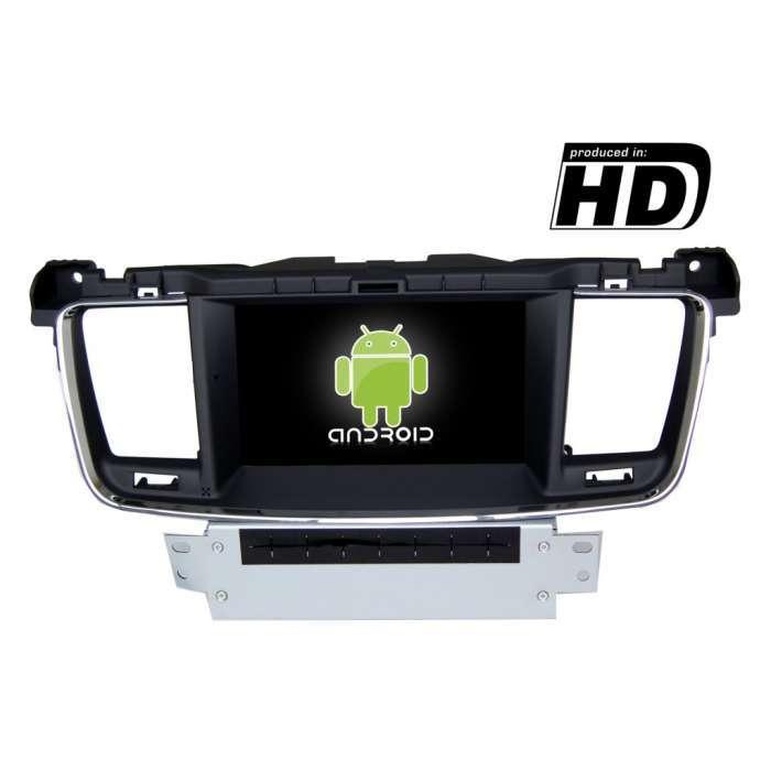 "Radio DVD Navegador GPS Android para Peugeot 508 (7"")"