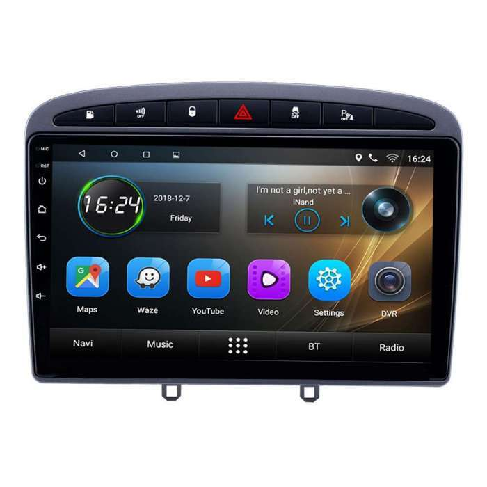 "Radio Navegador GPS Android para Peugeot 408 (9"")"