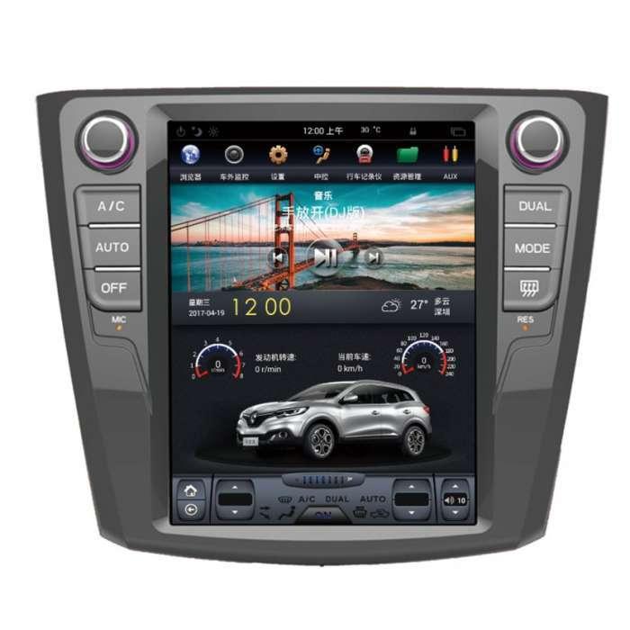 """Radio Navegador Android Tipo Tesla para Renault Kadjar (10,4"""")"""