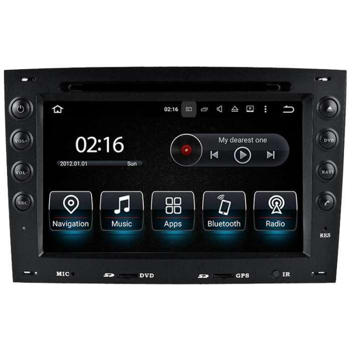 """Radio DVD Navegador GPS Android para Renault Megane 2 (7"""")"""