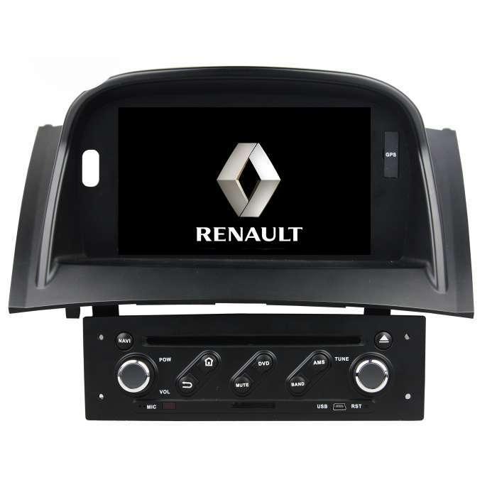 """Radio DVD Navegador GPS Android para Renault Megane (7"""")"""