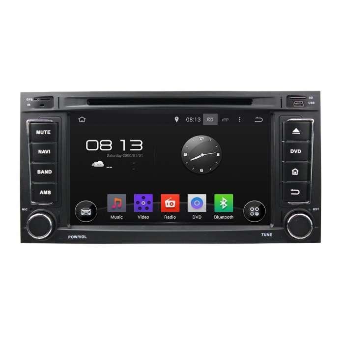 """Radio DVD Navegador GPS Android para Seat León / Ibiza (7"""")"""