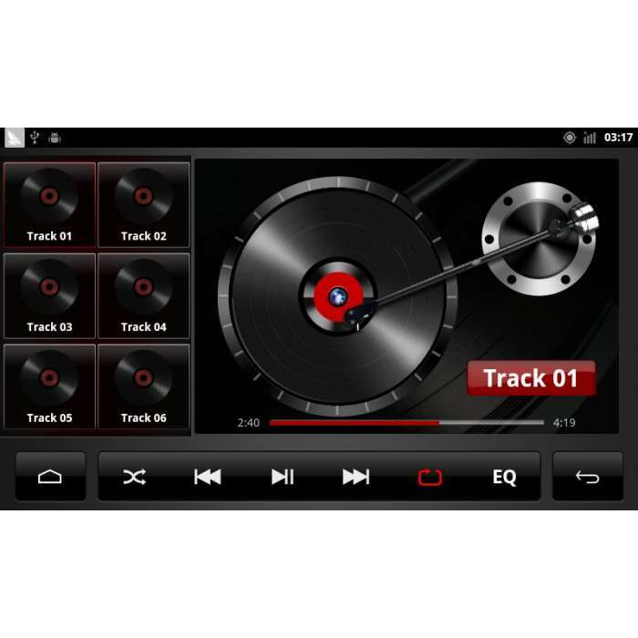 "Radio DVD Navegador GPS Android para Skoda Octavia / Superb (7"")"