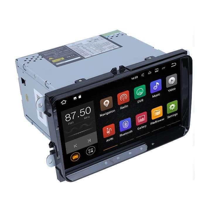 "Radio DVD Navegador GPS Android para Volkswagen / Seat / Skoda (9"")"