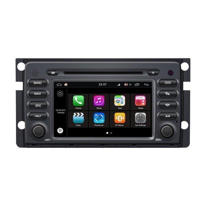 """Radio DVD Navegador Modelo S200 Android para Smart (7"""")"""