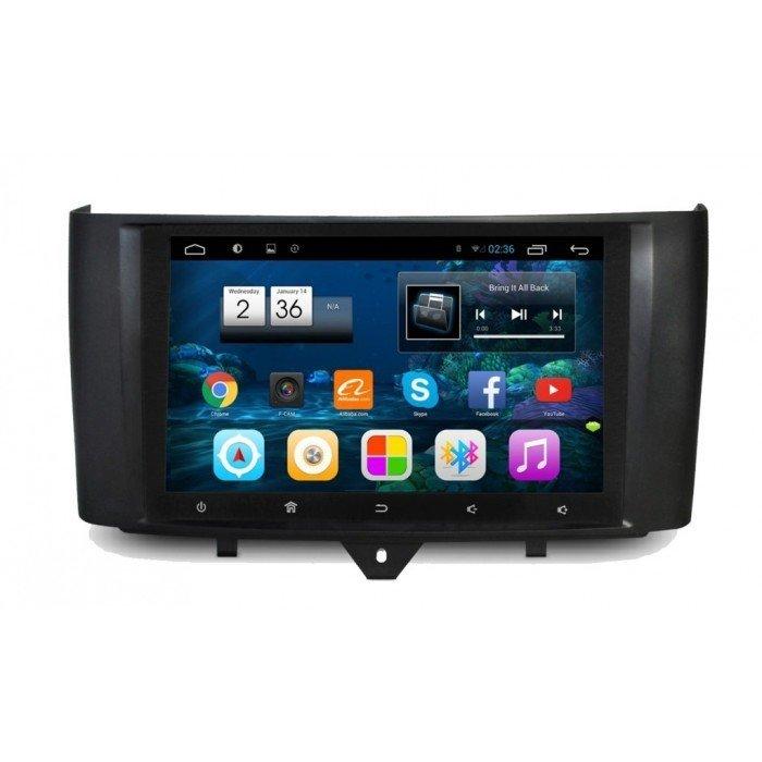 "Radio Navegador GPS Android para Smart (9"")"