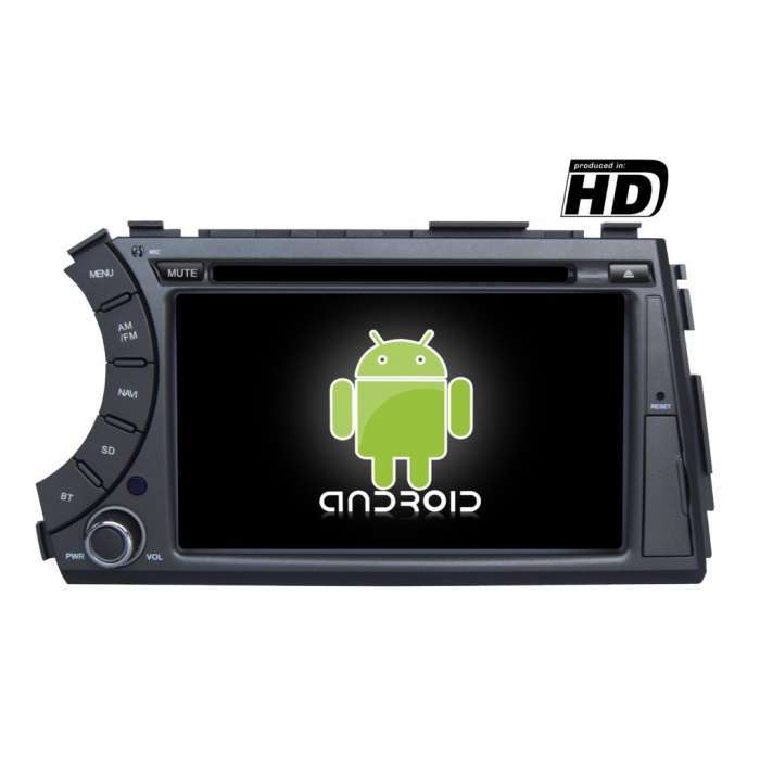"Radio DVD Navegador GPS Android para SsangYong Kyron (7"")"